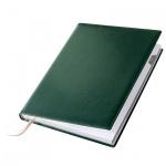Ежедневник полудатированный Brunnen Гранд де Люкс Софт зеленый, А6, 176 листов