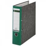 Папка-регистратор А4 Leitz зеленая, 80 мм, 10800255