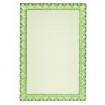 Сертификат-бумага Decadry зеленая волна, А4, 115г/м2, 70 листов
