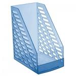 Накопитель вертикальный для бумаг Стамм XXL А4, 160мм, голубой, ЛТ904
