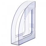 Накопитель вертикальный для бумаг Стамм Респект А4, 70мм, голубой, ЛТ146