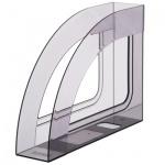 Накопитель вертикальный для бумаг Стамм Респект А4, 70мм, серый, ЛТ145