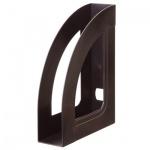 Накопитель вертикальный для бумаг Стамм Респект А4, 70мм, черный, ЛТ142