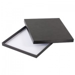 Подарочная коробка для ежедневника Brunnen Бизнес чёрная, 22.5х27.5 см