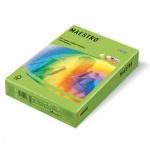 Цветная бумага для принтера Maestro Color интенсив зеленый, А4, 500 листов, 80г/м2, MA42