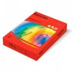 Цветная бумага для принтера Maestro Color кораллово-красный, А4, 500 листов, 80г/м2, CO44
