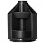 Органайзер настольный Стамм Mini Desk 10 секций, 140х107мм, черный, ОР70