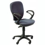 Кресло офисное Бюрократ CH-513AXN ткань, серая, JP, крестовина пластик, серое