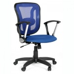 Кресло офисное Chairman 452 ткань, TW, крестовина пластик, синее