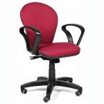 Кресло офисное Chairman 684 ткань, TW, крестовина пластик, NEW, бордо