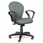 Кресло офисное Chairman 684 ткань, JP, крестовина пластик, NEW, серое