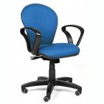 Кресло офисное Chairman 684 ткань, JP, крестовина пластик, NEW, синее
