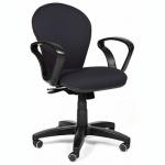Кресло офисное Chairman 684 ткань, TW, крестовина пластик, NEW, черное