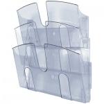 Лоток навесной для бумаг Uniplast А4, 3 отделения