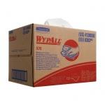 Протирочные салфетки Kimberly-Clark WypAll X70 8383, листовые, 152шт, 1 слой, белые