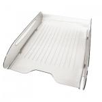 Лоток горизонтальный для бумаг Оскол-Пласт Элегант А4, прозрачный