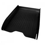 Лоток горизонтальный для бумаг Оскол-Пласт Элегант А4, черный