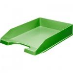 Лоток горизонтальный для бумаг Оскол-Пласт А4, зеленый, 9039