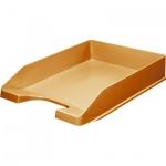 Лоток горизонтальный для бумаг Оскол-Пласт А4, оранжевый, 9040
