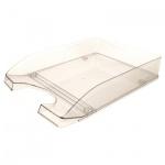 Лоток горизонтальный для бумаг Оскол-Пласт А4, прозрачный, 9033