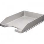 Лоток горизонтальный для бумаг Оскол-Пласт А4, серый, 9057