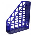 Накопитель вертикальный для бумаг Оскол-Пласт А4, 70мм, синий, 9055