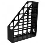 Накопитель вертикальный для бумаг Оскол-Пласт А4, 70мм, черный, 9056