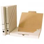 Архивный бокс Промтара белый, А4, 30 мм, ОП30