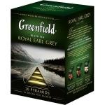 Чай Greenfield, черный, в пирамидках, 20 пакетиков, Роял Эрл Грей