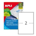 Этикетки белые Apli 02423 199.6x144.5мм, 200шт