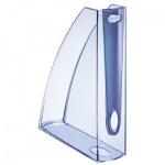 Накопитель вертикальный для бумаг Leitz Allura А4, 75мм, голубой