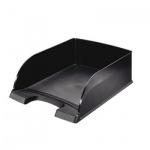 Лоток горизонтальный для бумаг Leitz Plus Jumbo A4, черный, 52330095