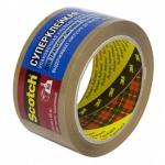 Клейкая лента упаковочная Scotch Hot Melt 50мм х66м, суперклейкая, 48мкм
