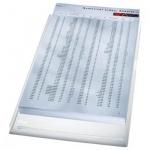 Папка-уголок Leitz прозрачная, A4, 170мкм, 5 шт/уп, 40563003