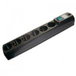 Сетевой фильтр Most HV6 6 розеток, 2м, черный