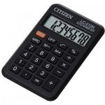Калькулятор карманный Citizen LC-210N черный, 8 разрядов