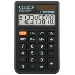 Калькулятор карманный Citizen SLD-200N черный, 8 разрядов