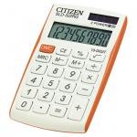 Калькулятор карманный Citizen SLD-322RG оранжево-белый, 10 разрядов