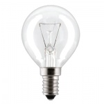 Лампа накаливания Philips P45 CL 60Вт, E14