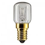 Лампа накаливания Philips T25CL, E14, 15Вт