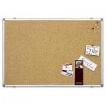 Доска пробковая Magnetoplan 121924 100х60см, коричневая, деревянная рама