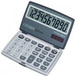 Калькулятор карманный Citizen CTC110 серебристый, 10 разрядов
