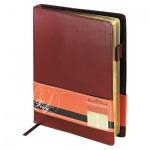 Ежедневник полудатированный Bruno Visconti Profi коричневый, А5, 208 листов