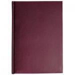Ежедневник недатированный Альт Ideal бордовый, А5, 136 листов