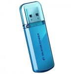 Флеш-накопитель Silicon Power Helios 101 8Gb, 15/5 мб/с, голубой