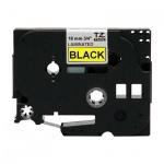 Картридж для принтера этикеток Brother TZ/TZe-641, 18мм х 8м, желтый с черными буквами, пластик