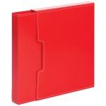 Папка файловая красная, А4, на 100 файлов