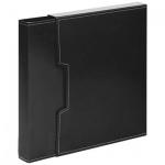 Папка файловая черная, А4, на 100 файлов