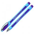 Ручка шариковая Schneider Slider Memo XB, 0.8мм, фиолетовая