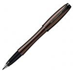 Ручка перьевая Parker Urban Premium F204 F, синяя, коричневый корпус